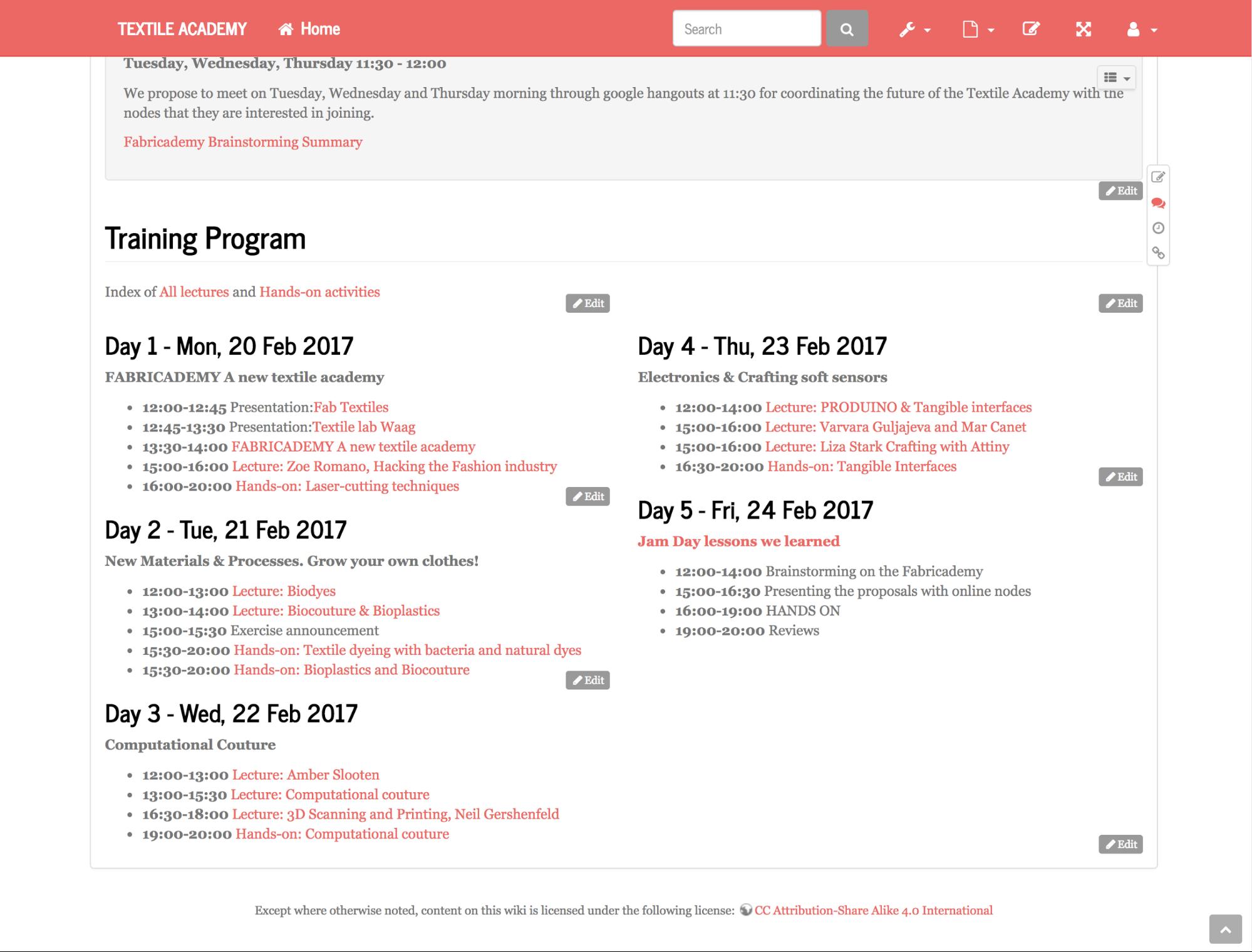 05textile academy bootcamp wiki