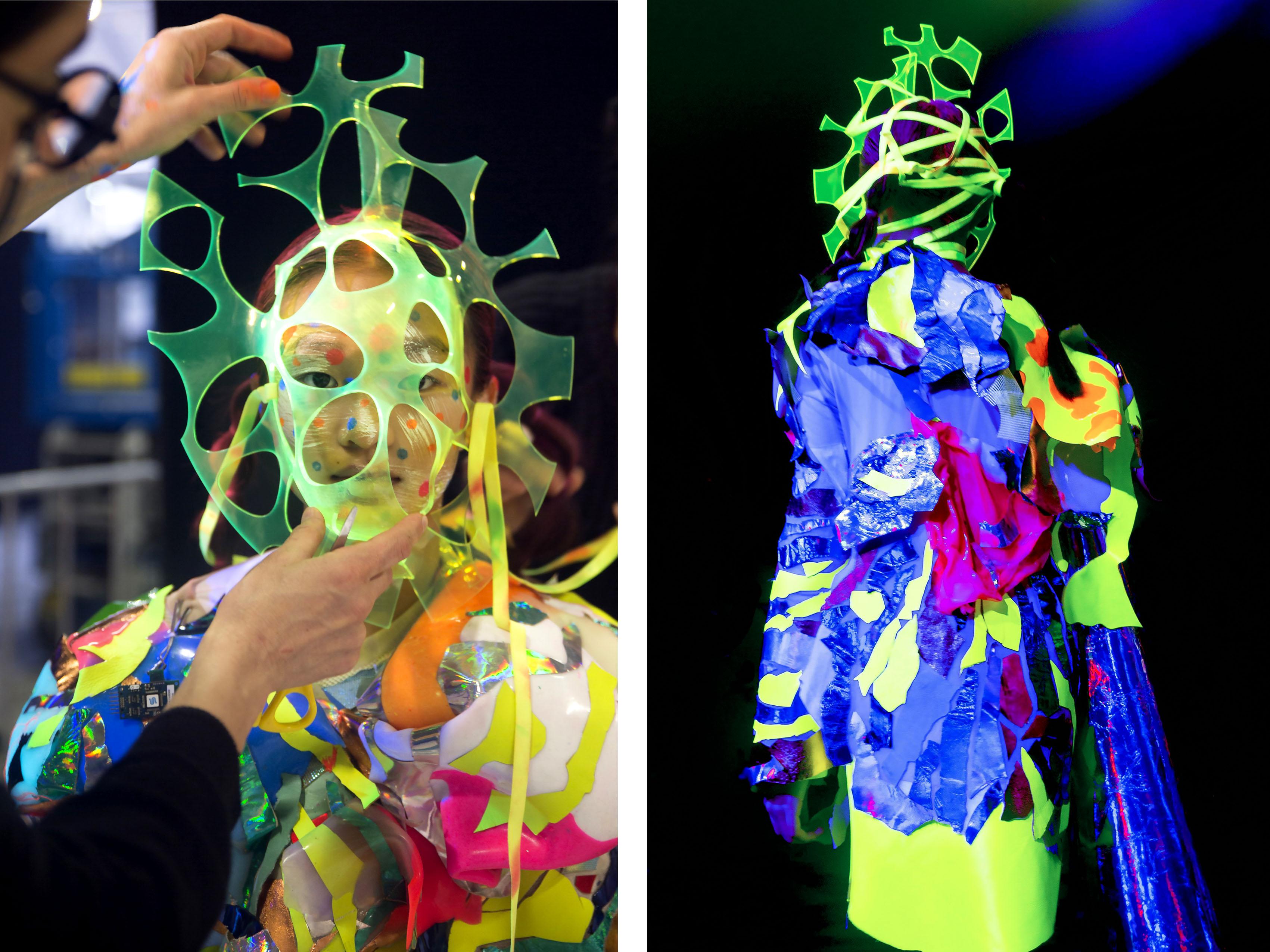 mask thermo fashion tech show