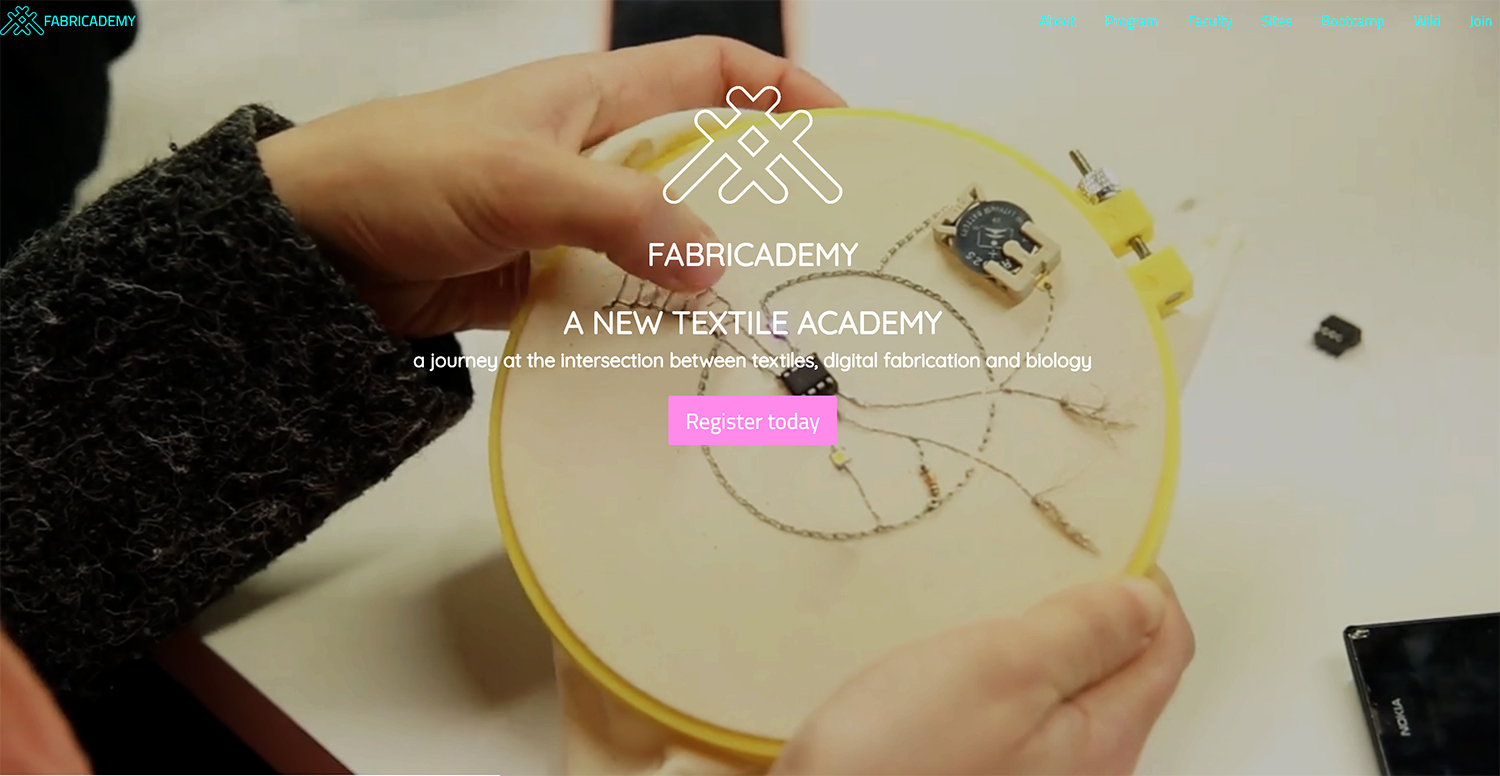 fabricademy screen