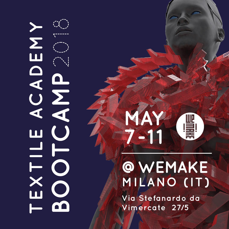Textile Academy Bootcamp @ WEMAKE , Milan