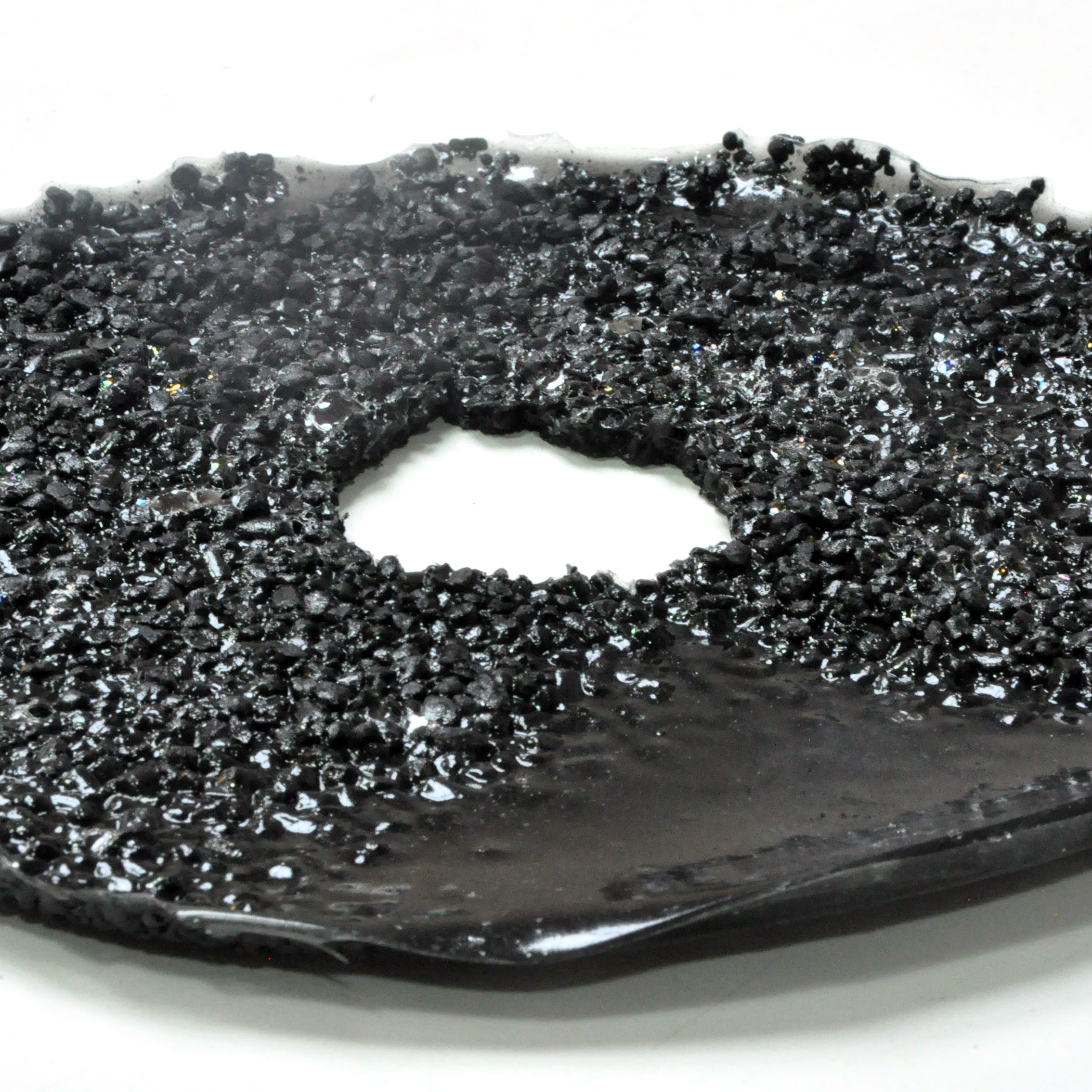 Bio Filter : bioplastic + activated charcoal
