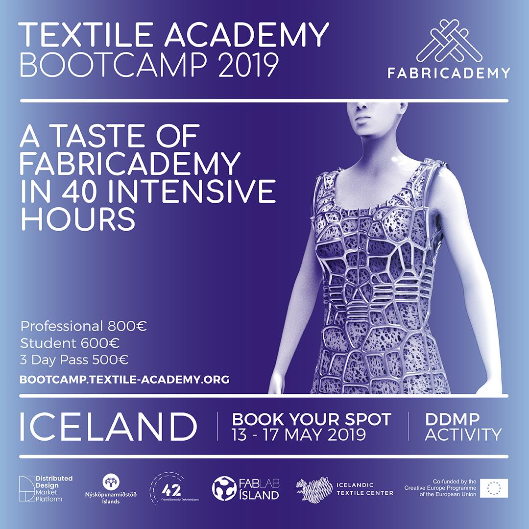 Textile Academy Bootcamp 2019