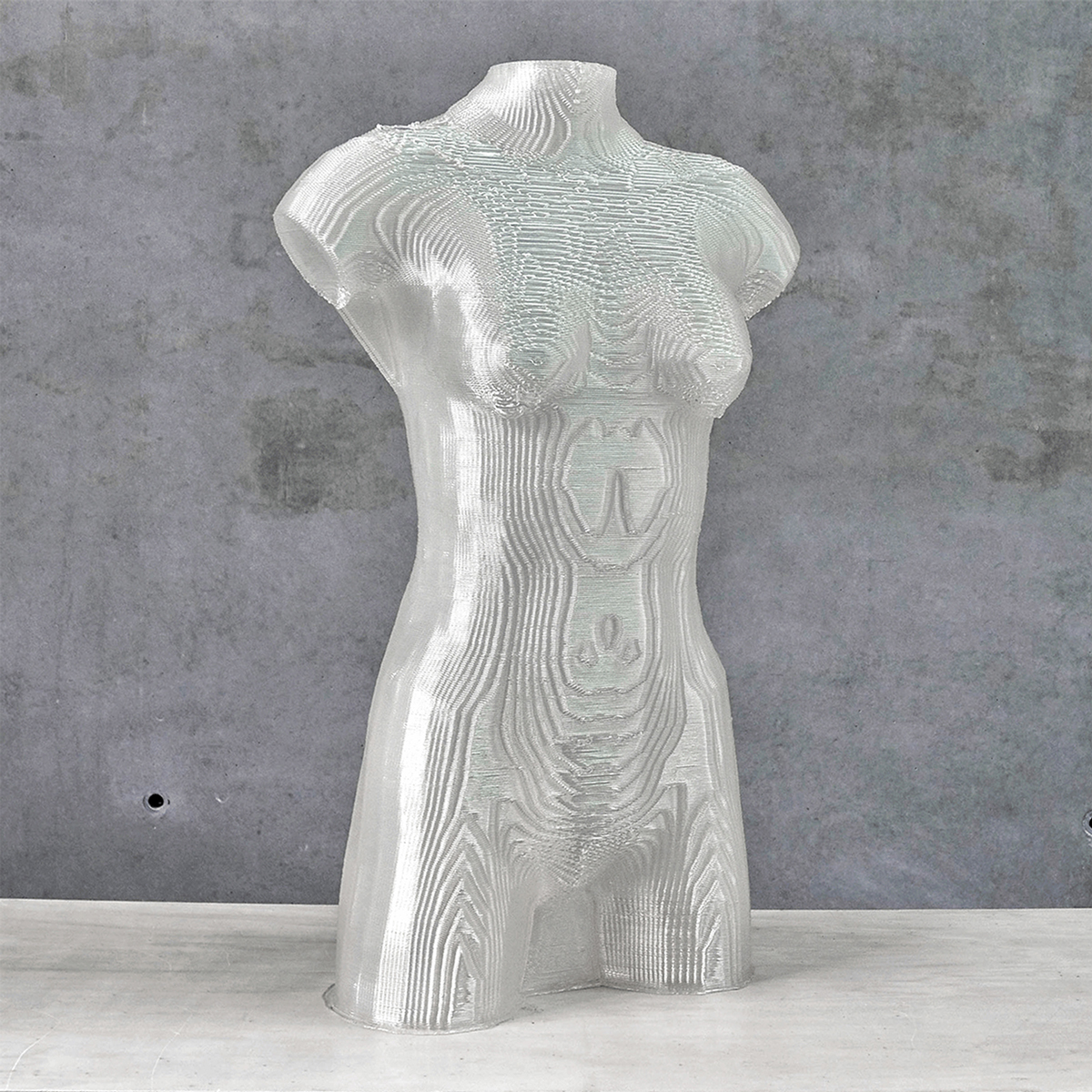 3D printed Mannequin